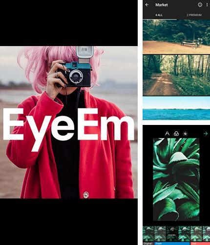 Besides Photo editor pro - Photo collage, collage maker Android program you can download EyeEm - Camera & Photo filter for Android phone or tablet for free.