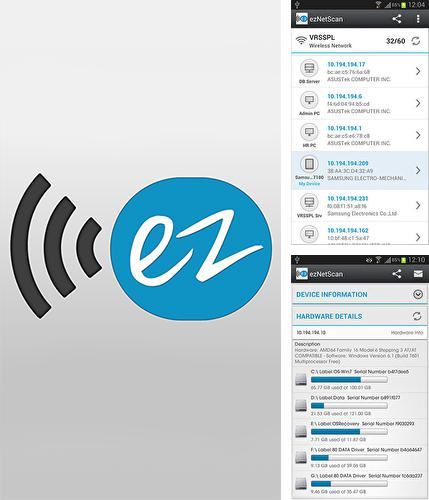 Download ezNetScan for Android phones and tablets.