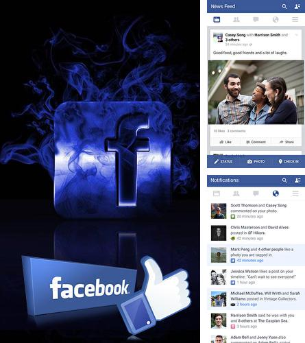 Download Facebook for Android phones and tablets.