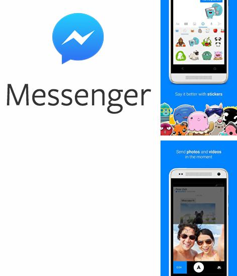 Besides Cover photo maker Android program you can download Facebook Messenger for Android phone or tablet for free.