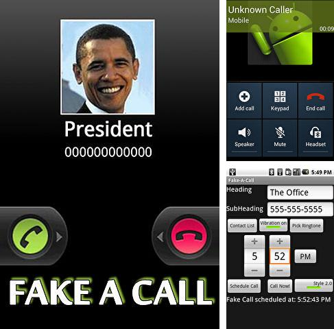 Download Fake a call for Android phones and tablets.