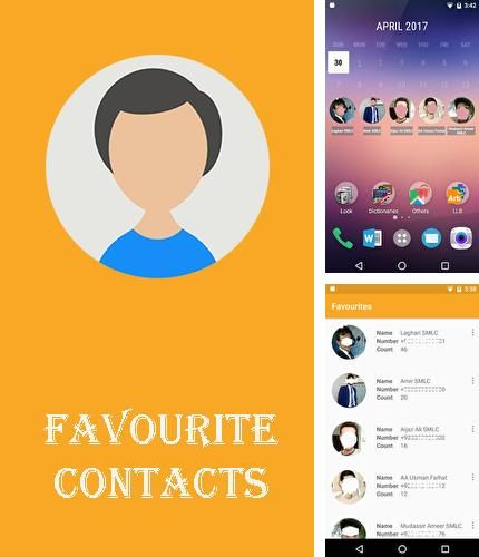 Besides Pulsate Android program you can download Favourite contacts for Android phone or tablet for free.
