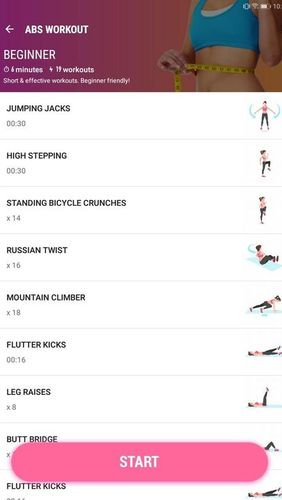 Female fitness - Women workout app for Android, download programs for phones and tablets for free.