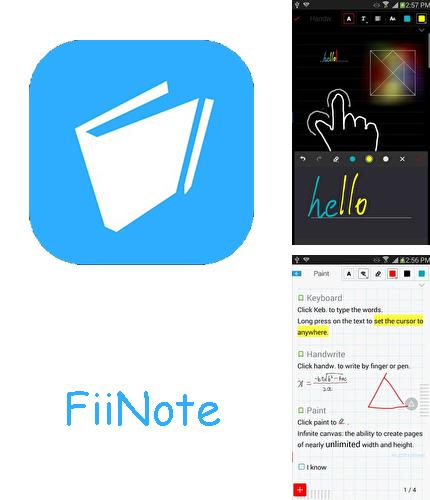 Download FiiNote: Note everything for Android phones and tablets.