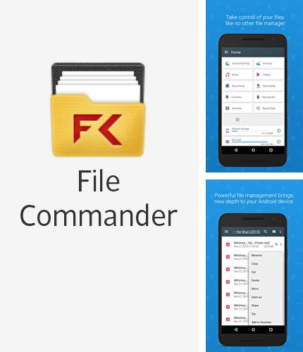 Además del programa File sharing - Send anywhere para Android, podrá descargar File Commander: File Manager para teléfono o tableta Android.