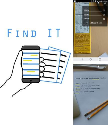Baixar grátis Find It - Document search apk para Android. Aplicativos para celulares e tablets.