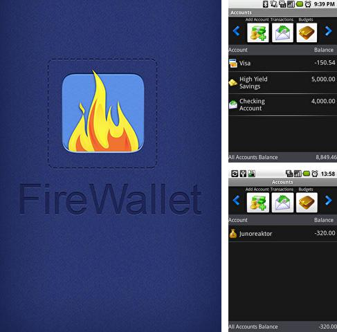 Download Fire wallet for Android phones and tablets.
