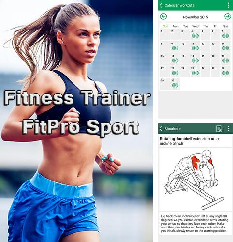 Download Fitness trainer fit pro sport for Android phones and tablets.