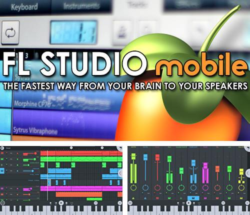 Besides Glitchr Android program you can download FL Studio for Android phone or tablet for free.