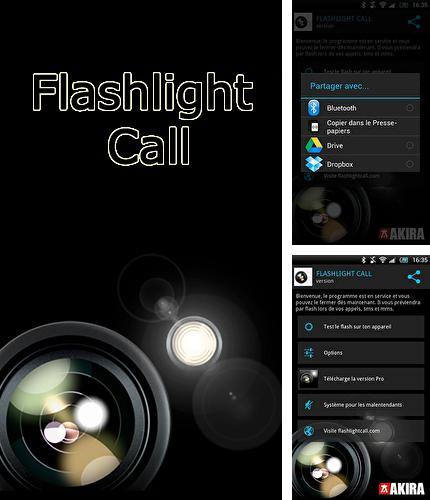 Besides Spectral Analyzer Android program you can download Flashlight call for Android phone or tablet for free.