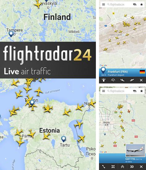 Besides Kaomoji: Japanese Emoticons Android program you can download Flightradar 24 for Android phone or tablet for free.