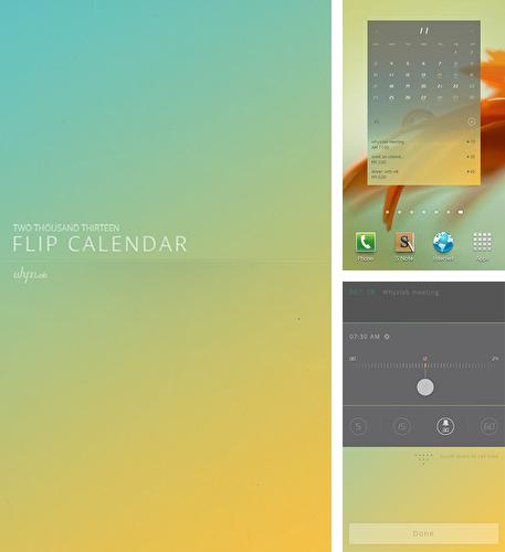 Download Flip calendar + widget for Android phones and tablets.