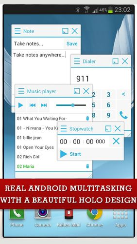 Download Floating apps (multitasking) for Android for free. Apps for phones and tablets.