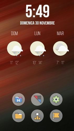 Fluxo - Icon pack app for Android, download programs for phones and tablets for free.