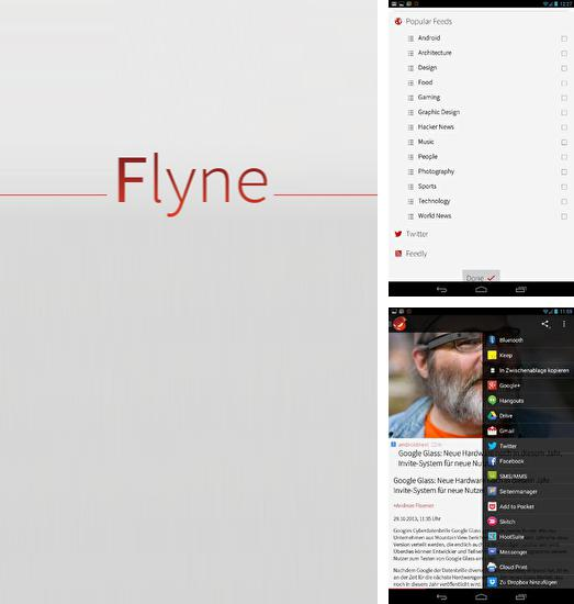 Besides Uber eats: Local food delivery Android program you can download Flyne for Android phone or tablet for free.