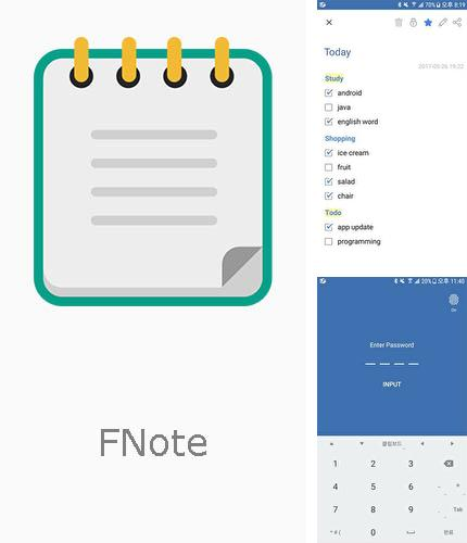 Besides Norton Security: Antivirus Android program you can download FNote - Folder notes, notepad for Android phone or tablet for free.