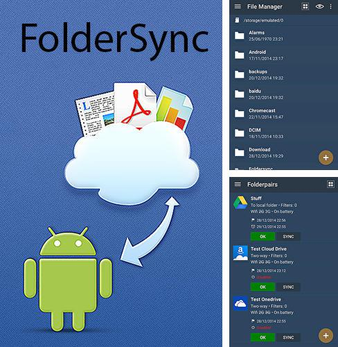 Besides Your hour - Phone addiction tracker and controller Android program you can download Folder sync for Android phone or tablet for free.