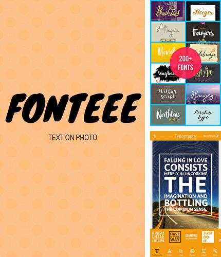 Download Fonteee: Text on photo for Android phones and tablets.