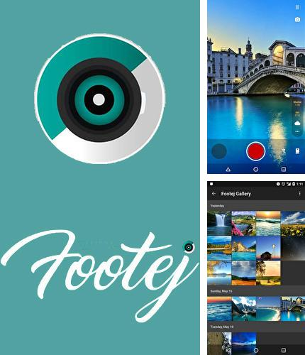 Besides Timely alarm clock Android program you can download Footej camera for Android phone or tablet for free.