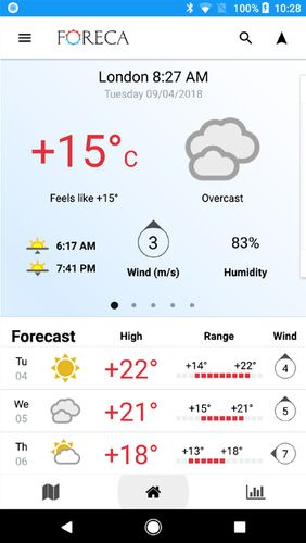 Download Foreca weather for Android for free. Apps for phones and tablets.