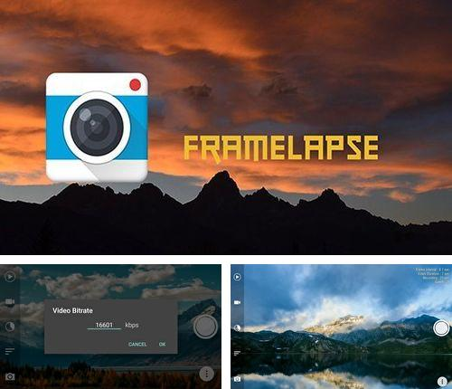 Besides Aadhar: QR decoder/encoder Android program you can download Framelapse - Time lapse camera for Android phone or tablet for free.