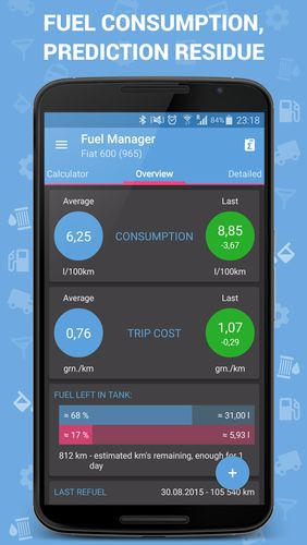 Download Fuel Manager for Android for free. Apps for phones and tablets.