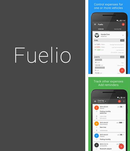 Besides Name days Android program you can download Fuelio: Gas and Costs for Android phone or tablet for free.