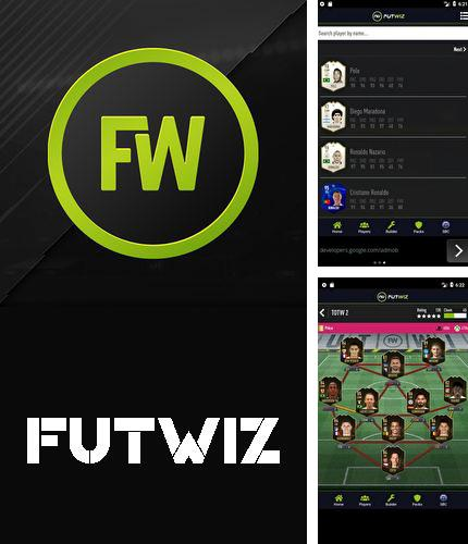 Besides IP Track Android program you can download FUTWIZ for Android phone or tablet for free.
