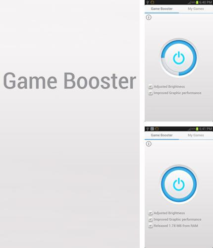 Besides Q time rec Android program you can download Game Booster for Android phone or tablet for free.