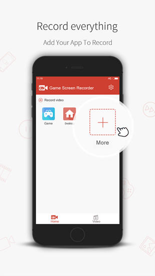 Game Screen: Recorder app for Android, download programs for phones and tablets for free.