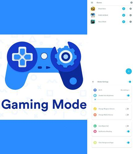 Besides Kate mobile VK Android program you can download Gaming mode - The ultimate game experience booster for Android phone or tablet for free.
