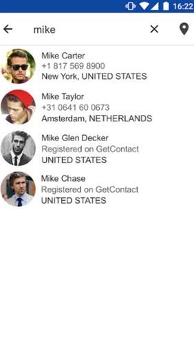 GetContact app for Android, download programs for phones and tablets for free.
