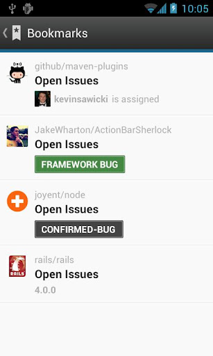 GitHub app for Android, download programs for phones and tablets for free.