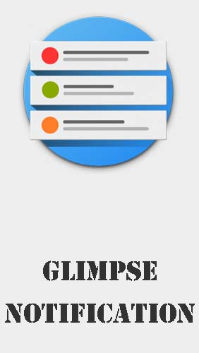 Glimpse notifications