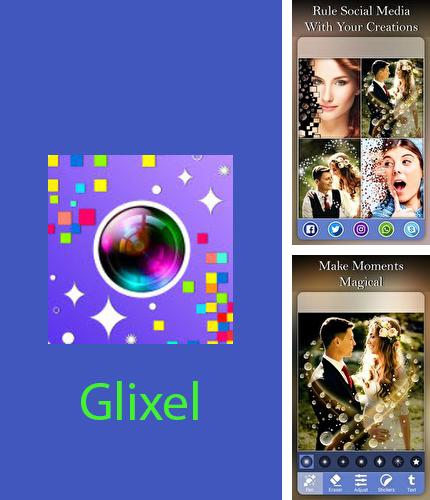Download Glixel - glitter and pixel effects photo editor for Android phones and tablets.
