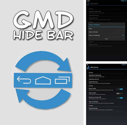 Besides ilMeteo weather Android program you can download GMD hide bar for Android phone or tablet for free.