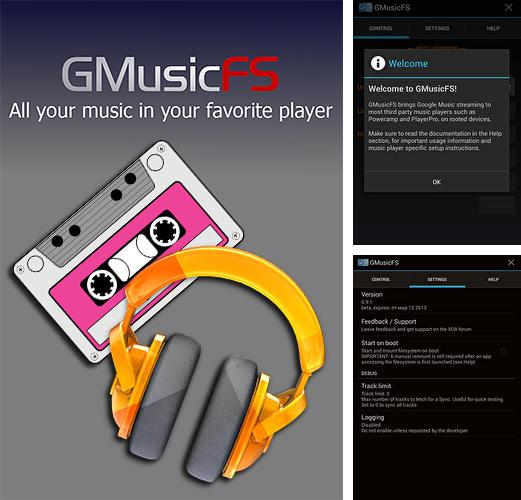 Download GMusicFS for Android phones and tablets.