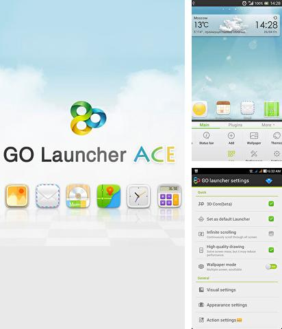 Download Go Launcher Ace for Android phones and tablets.