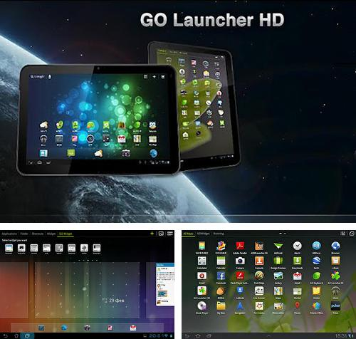 Besides Sticky notes Android program you can download GO Launcher HD for Android phone or tablet for free.