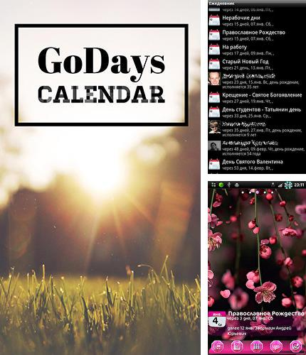 Download Go days calendar for Android phones and tablets.
