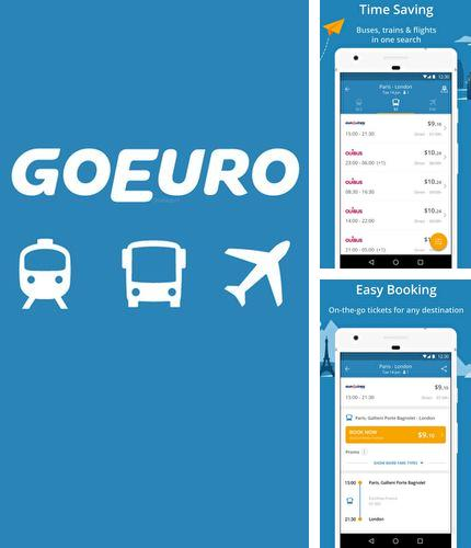 Download GoEuro for Android phones and tablets.