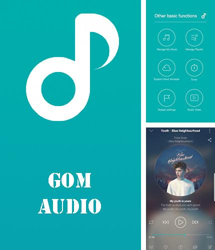 Además del programa FReader: All Formats Reader para Android, podrá descargar GOM audio - Music, sync lyrics, podcast, streaming para teléfono o tableta Android.