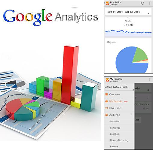 Download Google analytics for Android phones and tablets.