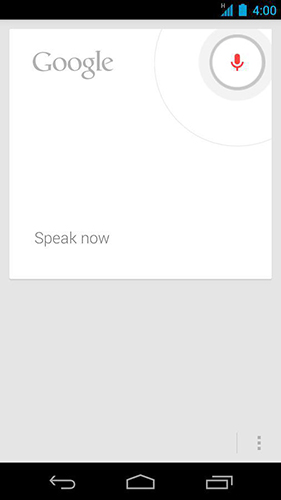 Screenshots of Google program for Android phone or tablet.