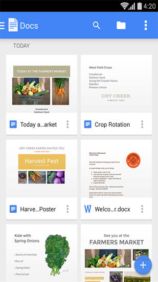 Download Google Docs for Android for free. Apps for phones and tablets.