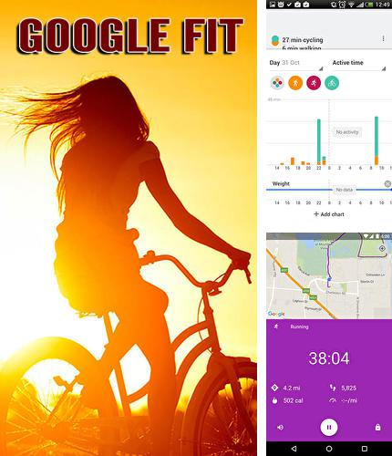 Download Google fit for Android phones and tablets.