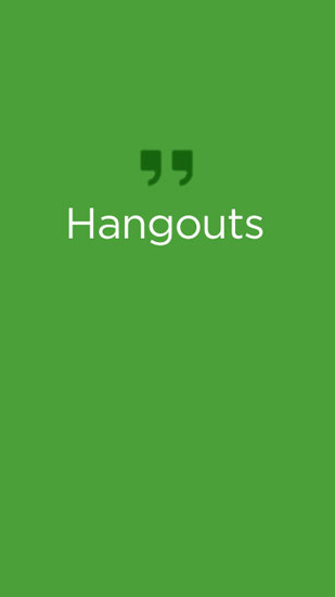 Hangouts for Android – download for free