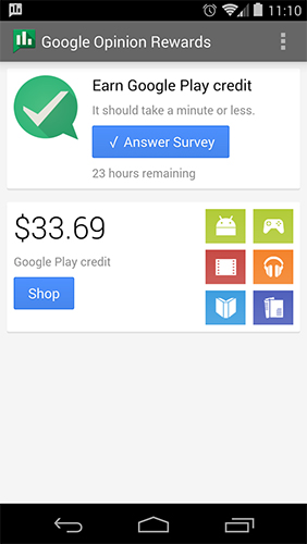 Download Google opinion rewards for Android for free. Apps for phones and tablets.