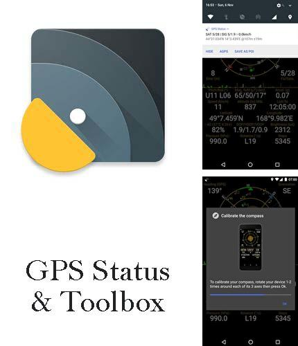 Download GPS status & toolbox for Android phones and tablets.