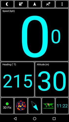 Screenshots of Speed Camera Radar program for Android phone or tablet.